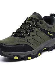 cheap -Men's Fall / Spring & Summer Casual / British Daily Outdoor Trainers / Athletic Shoes Hiking Shoes / Walking Shoes PU Breathable Non-slipping Shock Absorbing Army Green / Brown / Gray