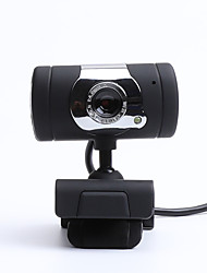 cheap -LITBest CZ0006 USB 2.0 Business Conference Webcam HD 480P Flash LED Built In Microphone Drives Free