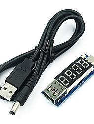 Недорогие -тип - с женской головкой pd быстрый заряд триггера приманка постоянного тока цифровой дисплей напряжения амперметр испытательный прибор полный протокол pps