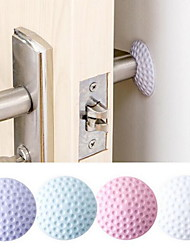 cheap -Giant Door Handle Anti-collision Pad Wall Silicone Buffer Cushion Door Handle Door Mute Anti-collision Pad Thickened Nail-free Shockproof