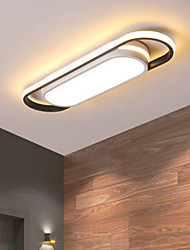 cheap -Strip Led Ceiling Light Modern Simple North European Entry Porch Balcony Cloakroom Light 18W