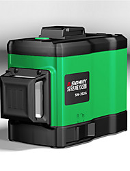 cheap -SNDWAY Laser Levels Green 360 3D Self Leveling Vertical Horizontal Rotary Lasers 8 lines Lasers Leveler SW-392G