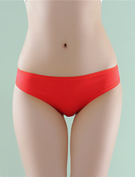 cheap -Women's Basic Brief - Asian Size Low Waist White Black Red One-Size