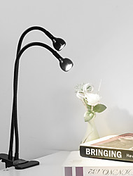 cheap -Desk Lamp Eye Protection / Swing Arm / Adjustable Modern Contemporary USB Powered For Bedroom / Study Room / Office Aluminum DC 5V Silver / Black