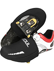 cheap -Adults' Cycling Shoes Cover / Overshoes Thermal / Warm Breathable Road Cycling Black Cycling Shoes