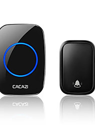 cheap -CACAZI FA58 Wireless Waterproof Self-powered Doorbell No Battery Required 1 Transmitter 1 Receiver Home Ring Bell