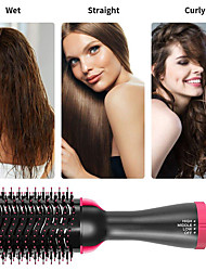 cheap -3 IN1 Electric Tangle Detangling Brush Hot Air Comb Negative Ions One Step Hair Blower&Volumizer Dryer Straightener Curler Comb