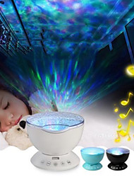 cheap -Baby & Kids' Night Lights Cartoon Starry Night Light LED Lighting Light Up Toy Constellation Lamp Star Projector Glow 2W USB Kid's Adults for Birthday Gifts and Party Favors  1 pcs