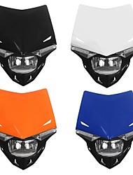 Недорогие -фара для мотоциклов в сборе с лампой двойного спортивного мотокросса для honda / kawasaki / suzuki / yamaha ktm exc excf xcf xcw sx sxf smr