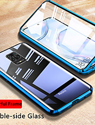 cheap -Magnetic Glass Case For Xiaomi MI 11 Redmi Note 9S/9Pro/9Pro Max/8T/8/8Pro/7s/8A/K30Pro/K 20 Case Double Side Tempered Glass Metal Magnetic Adsorption Cover For Xiaomi Mi 10 / 10 Lite/ CC9