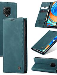 cheap -CaseMe Retro Business Leather Magnetic Flip Case For Xiaomi Redmi Note 9 Pro/Note 9 Pro Max /Note 9s/Note 8/Note 8 Pro/K30/K30 Pro/K20/K20 Pro With Wallet Card Slot Stand Case Cover