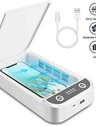 Недорогие -USB многофункциональный мобильный телефон маска дезинфекция ювелирных изделий машина ультрафиолетовая лампа дезинфекции мобильного телефона коробка