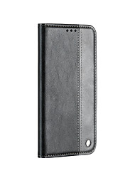 cheap -Case for Huawei Mate20lite Card Holder Magnetic Full Body Cases Lines Waves PU Leather