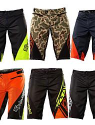 cheap -Men's Downhill Shorts Cycling MTB Shorts Bike Shorts Bottoms Breathable Moisture Wicking Quick Dry Sports Plaid / Checkered Cotton Green / Black / Black / Green / Black / Orange Mountain Bike MTB