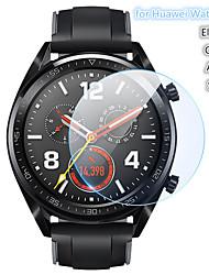 Недорогие -Защитная пленка для ПК 5 шт. Для часов Huawei Gt Active / Elegant / Sport / Classic Закаленное стекло Прозрачный высокой четкости (HD) Царапинам / твердость 9ч