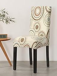 cheap -Chair Cover Damask / Geometric / Contemporary Printed Polyester Slipcovers
