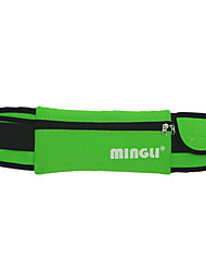 cheap -Unisex Bags Nylon Fanny Pack Zipper Color Block Letter Bum Bag Outdoor Black Blue Green Coffee