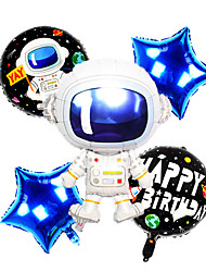 cheap -Party Balloons 5 pcs Galaxy Balloon Party Favors All Creative for Party Favors Supplies or Home Decoration / 14 Years & Up