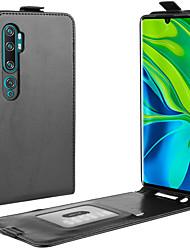cheap -For Xiaomi Mi CC9 Pro/note 10/note 10 Pro Crazy Horse Vertical Flip Leather Protective Case