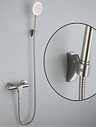 cheap -304 Stainless Steel Simple Shower Shower Set Portable Cold And Hot Water Mixing Valve Shower Faucet