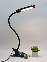 cheap -Reading Light Rechargeable / Eye Protection / Adjustable Modern Contemporary Built-in Li-Battery Powered For Study Room / Office / Kids Room ABS DC 5V White / Black
