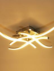 baratos -18w e 24w modernos conduziu a lâmpada de teto de alumínio bifurcada luz de teto para decoração de sala de estar 85-265v
