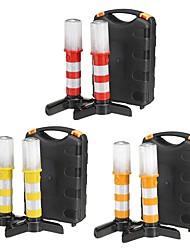 halpa -2kpl led-auton hätävaroitusvalo tienvarsilla, merkkivalot, turvasähkövalo magneettialustalla liikennevaroitusretkelle