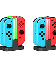 cheap -Charger Kits For Nintendo Switch / Nintendo Switch Lite Creative Charger Kits ABS 1 pcs unit