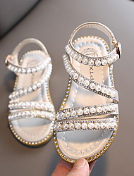 cheap -Girls' Comfort PVC Sandals Little Kids(4-7ys) Pink / Gold / Silver Summer