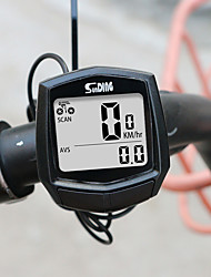 cheap -SD-581A SunDING Bike Wired Computer Speedometer Odometer Cycling Bicycle Waterproof Measurable Temperature Stopwatch