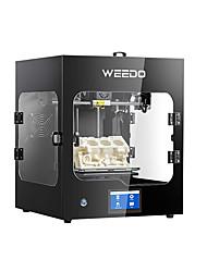 Недорогие -Профессиональный 3D-принтер Weedo промышленного класса с поддержкой программного обеспечения wiibuilder / cura (pla / abs / pc / nylon) для печати материалов