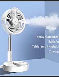 Недорогие -usb eletric fan увлажняющий увлажнитель воды спрей вентилятор портативный складной выдвижной вентилятор настольная лампа вентилятор телескопический ночник