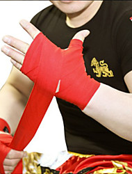 cheap -Hand Wraps For Martial Arts, Muay Thai, Boxing Training, Kickboxing Protection Durable Cotton Men's Adults - White / Black / Blue
