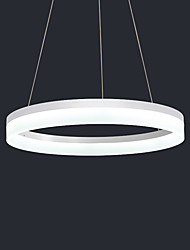 cheap -OYLYW 60 cm Circle Design Pendant Light Metal Acrylic Brushed / Painted Finishes LED / Modern 110-120V / 220-240V