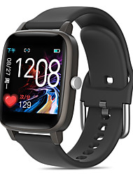 cheap -T98 Thermometer Smart Wristbands Unisex Smart watch Bluetooth Touch Screen Heart Rate Monitor Blood Pressure Measurement Calories Burned Thermometer ECGPPG Pedometer Activity Tracker for Iphone