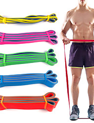cheap -Pull up Assistance Bands Sports Latex Home Workout Gym Pilates Eco-friendly Non Toxic Stretchy Durable Strength Training Muscular Bodyweight Training Physical Therapy For Men Women
