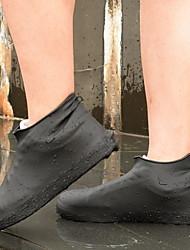 cheap -Unisex Shoe Cover Solid Colored Antibacterial PVC(PolyVinyl Chloride) EU36-EU42