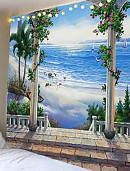 ieftine -scenă de grădină tipărită în afara ferestrei tapiserie decorativă mandala tapiserie decorare indiană mare hippie perete atârnată pătură