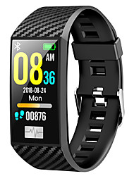 cheap -DT NO.1 DT58 Unisex Smartwatch Bluetooth Waterproof Heart Rate Monitor Blood Pressure Measurement Calories Burned Health Care ECG+PPG Timer Pedometer Alarm Clock