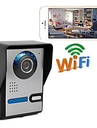 cheap -Wireless WIFI network IP Camera Video Door Phone Home Intercom System with Unlock  PWF1006FA