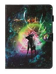 cheap -Case For Apple iPad New Air 10.5 / iPad Mini 3/2/1/4/5 Card Holder / with Stand / Flip Full Body Cases Animal PU Leather For iPad 10.2 2019/Pro 11 2020/Pro 9.7/2017/2018