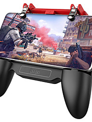 cheap -PG-9123 PUBG Mobile Controller Moblile Game Controller Game Accessories For Android / iOS Game Controller Free Fire Game Accessories Game Trigger for iPhone Samsung