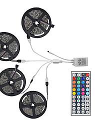 Недорогие -20m light sets 600 светодиодов 5050 smd Пульт дистанционного управления 10mm RGB / RC / Cuttable