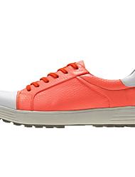 cheap -Men's Women's Golf Shoes Anti-Slip Wearable Comfortable Golf Outdoor Exercise Spring, Fall, Winter, Summer Purple Orange White