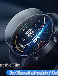 cheap -5 PCS Screen Protector for Xiaomi Mi Watch/Color Anti-Scratch  Protective Full Coverage Anti-Bubble HD TPU Screen Film