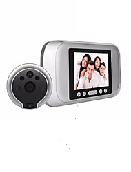 cheap -720P Ultra-high-definition Electronic Cat's Eye Support Photo And Video Recording Human Body Induction 160-degree Wide Angle Low Power Consumption