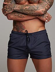 cheap -Men's Sporty Basic Slim Sweatpants Shorts Pants - Solid Colored Sporty Drawstring Quick Dry Summer Black Red Army Green US32 / UK32 / EU40 / US34 / UK34 / EU42 / US36 / UK36 / EU44