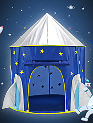 cheap -Play Tent & Tunnel Playhouse Tent Kids Play Tent Teepee Castle Spacecraft Star Foldable Convenient Pop up Tent Polyester Polyester Microfiber Indoor Outdoor Spring Summer Fall 3 years+ All Pop Up
