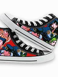 Недорогие -Обувь для косплэй Bizarre Adventure JoJo в Косплей Аниме Обувь для косплэй холст Муж. / Жен. Костюмы на Хэллоуин