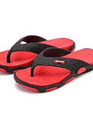 cheap -Men's Summer Daily Slippers & Flip-Flops PVC Non-slipping Red / Orange / Green